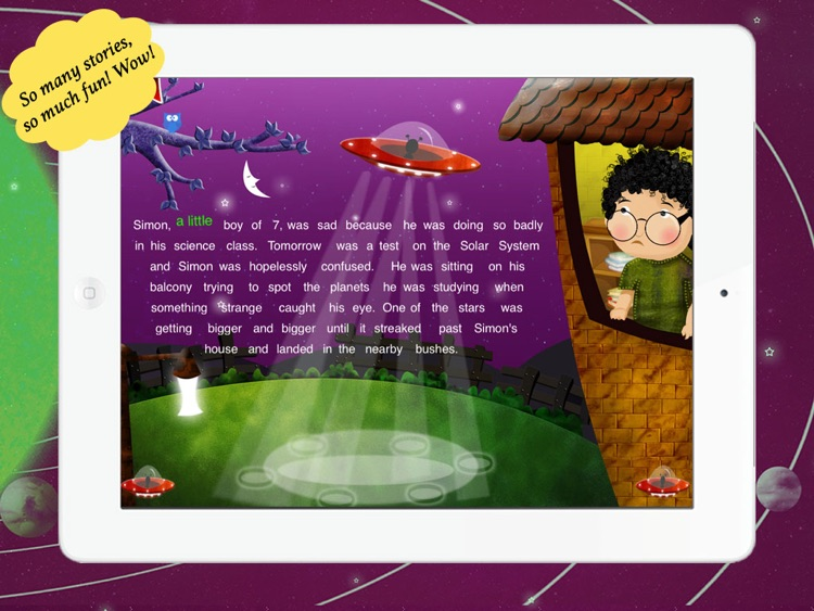 Simon in Space for Children by Story Time for Kids by Mariya Bohari