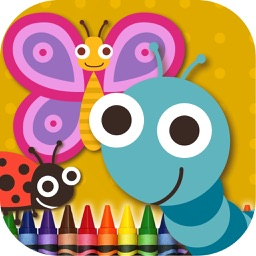 Coloring Book Insects