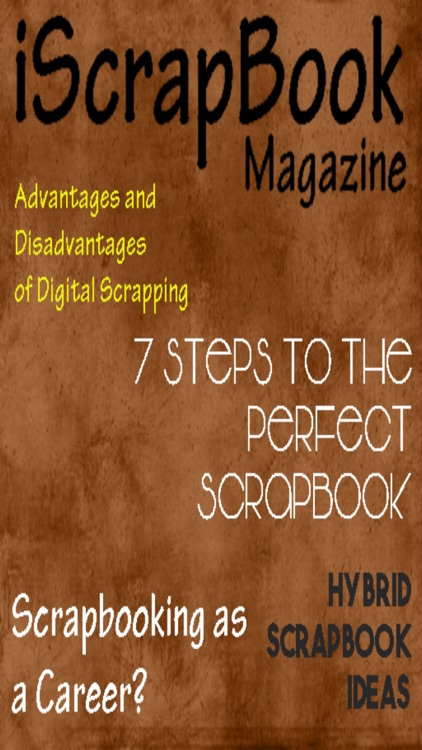 iScrapbook Magazine