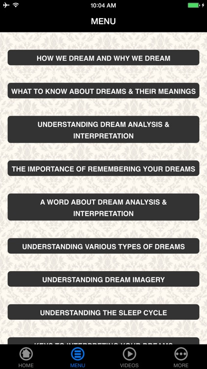 Dream Meanings - Beginner's Guide screenshot-4