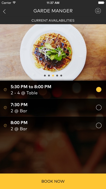 DINR - Same Day Restaurant Reservations