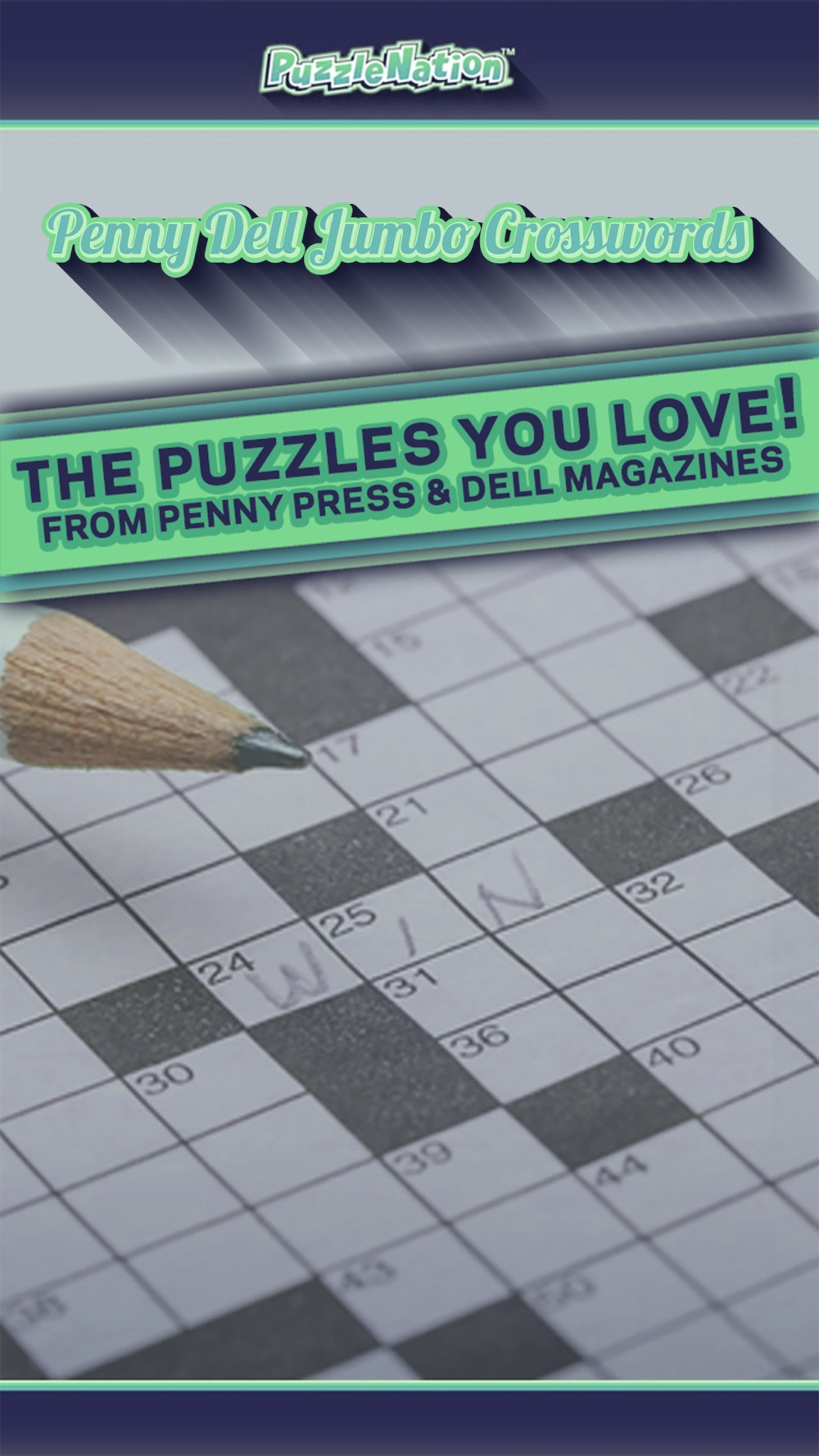 Penny Dell Jumbo Crosswords – Crossword Puzzles for Everyone!