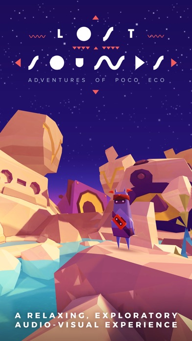 Adventures of Poco Eco - Lost Sounds: Experience Music and Animation Art in an Indie Game screenshot one