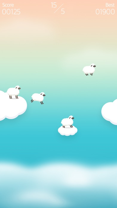 Over the Clouds : Sheep Free ( Sleepy & Healing game ) screenshot four