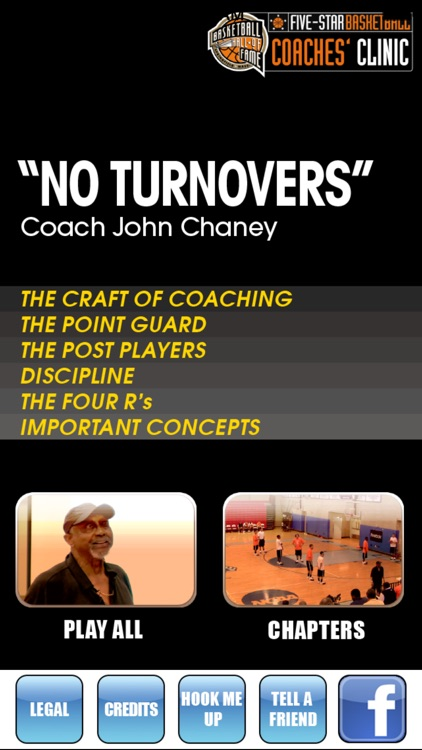 """ No Turnovers "" : A Championship Coaching Philosophy - With Coach John Chaney- Full Court Basketball Training Instruction screenshot-0"