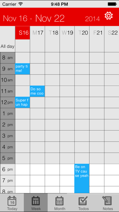 Tải về Parker Planner Classic (old version) cho Android