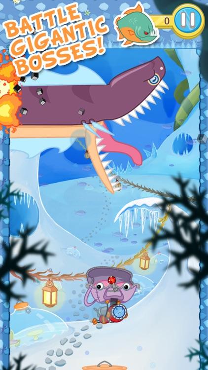 Blowfish Meets Meteor: A Brick-Breaker Adventure