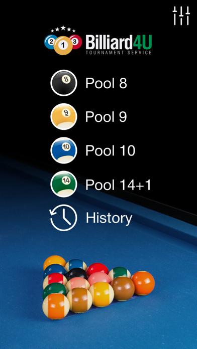 Pool Scorer PRO screenshot one