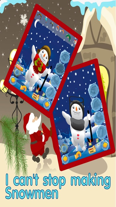 Snowman Dress Up Maker -Decorate Santa 's Christmas Town