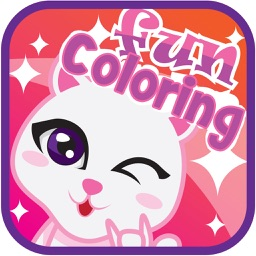cartoon coloring page and book for kid