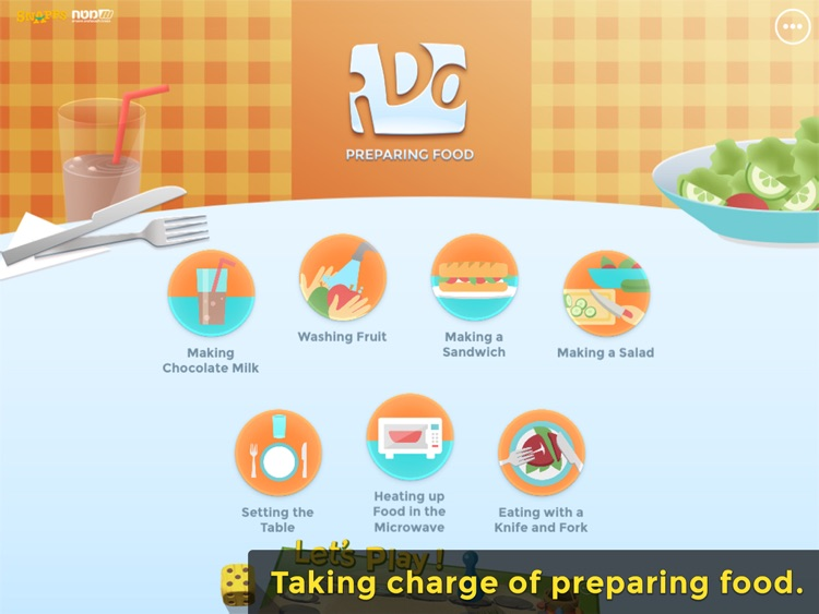 iDo Food – Kids with special needs learn dining skills (Full version)