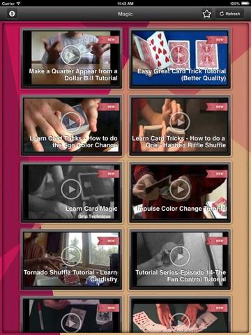 Magic Hat: Top secret magic and card tricks videos lesson-ipad-1