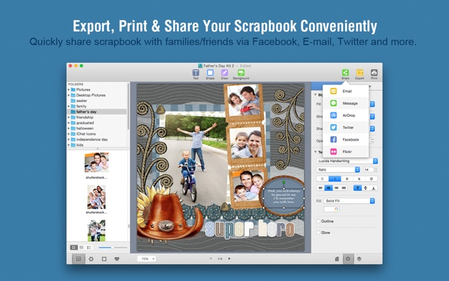 Scrapbook Crafter On The Mac App Store