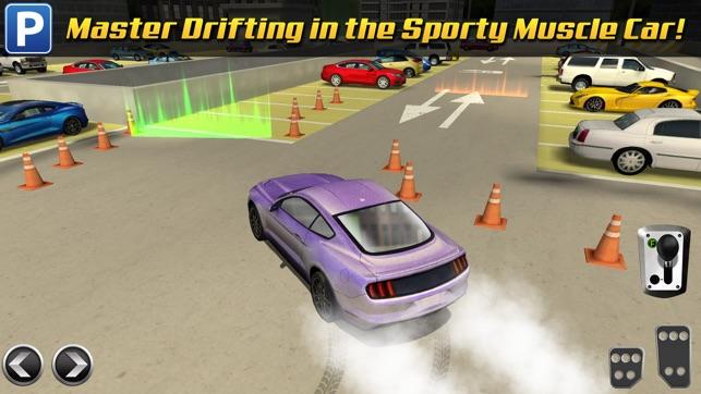 multi level 3 car parking game gratuit jeux de voiture de course dans l app store. Black Bedroom Furniture Sets. Home Design Ideas