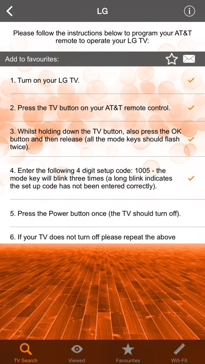 Remote Controller Codes for AT&T screenshot-2