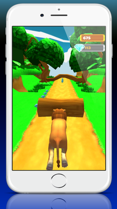 Zoo Escape Animal Run - 3D Island Voyage Quest screenshot one