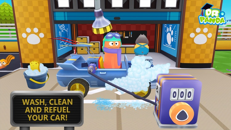 Dr. Panda Racers screenshot-3