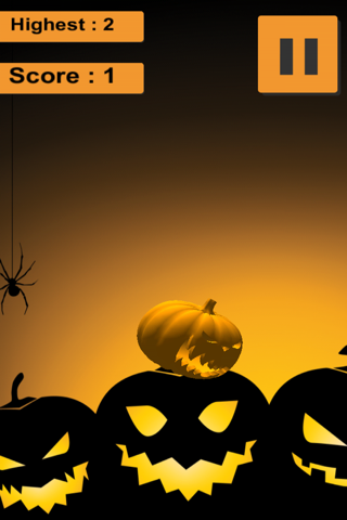 Jack-O-Lantern Halloween Juggle Game screenshot 2