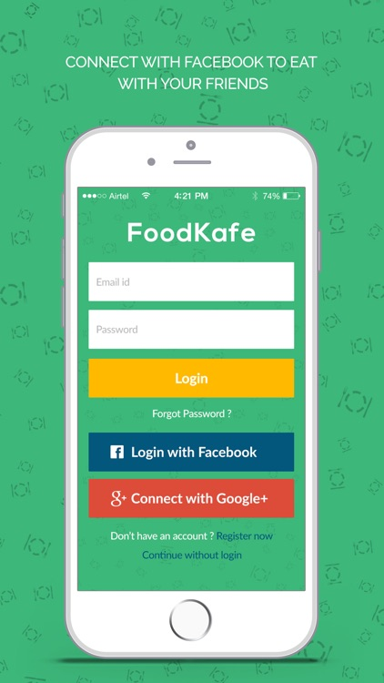 FoodKafe screenshot-0