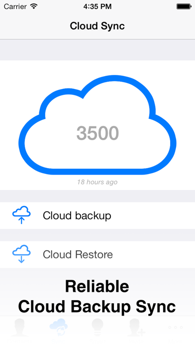 Cloude - The Most Reliable Contacts Cloud Backup, Sync and