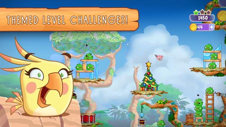 Angry Birds Slingshot Stella screenshot-3