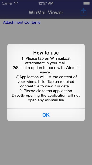 Screenshot for Winmail dat Viewer for iPhone 6 and iPhone 6 Plus in Poland App Store