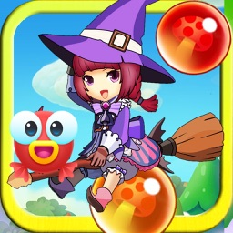 Pop Witch Bubble Angry Match 3: Jelly Birds Mania