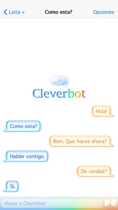 CleverbotCaptura de pantalla de1