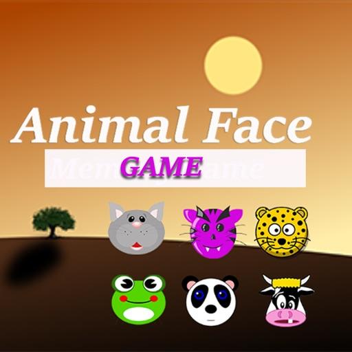 Animal face match game
