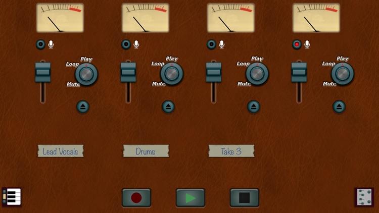 4 Tracks Audio Recorder
