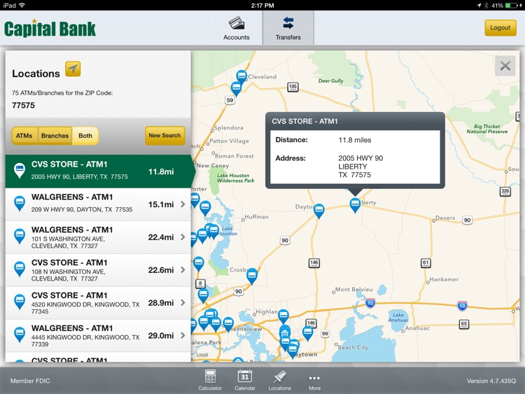 Capital Bank - Mobile Banking for iPad screenshot-3