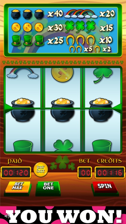 `Lucky Leprechaun Big Gold Jackpot Lotto 777 Casino Slots - Slot Machine with Blackjack and Prize Wheel