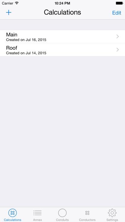 Conduit Fill Calculator screenshot-3