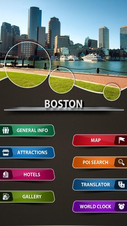 Boston City Offline Travel Guide