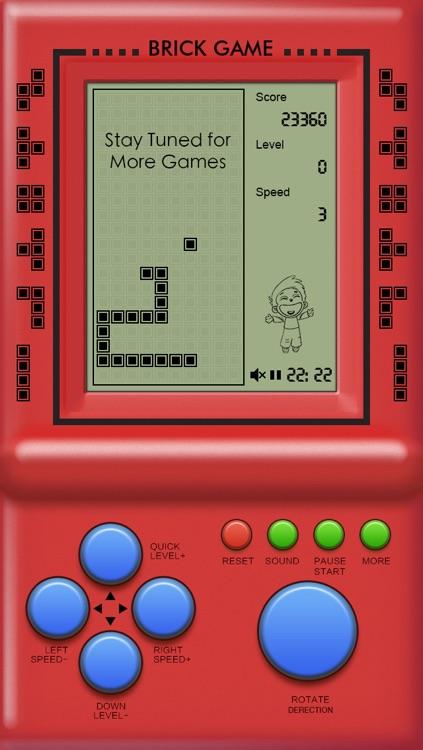 Classic Brick Game Collection screenshot-4
