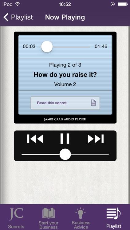James Caan Business Secrets screenshot-3
