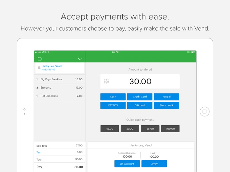 Vend POS — Point of Sale