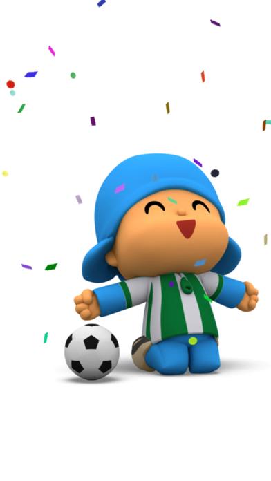 Talking Pocoyo Football FreeCaptura de pantalla de4