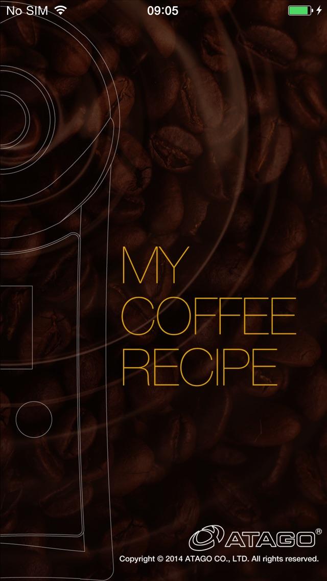 MY COFFEE RECIPE screenshot1