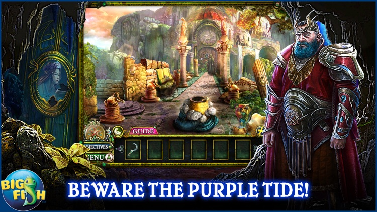Dark Parables: The Little Mermaid and the Purple Tide - A Magical Hidden Objects Game (Full) screenshot-0