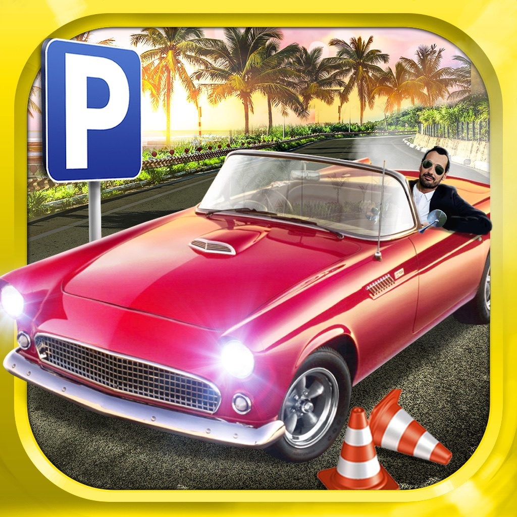 Classic Sports Car Parking Game Real Driving Test Run Racing