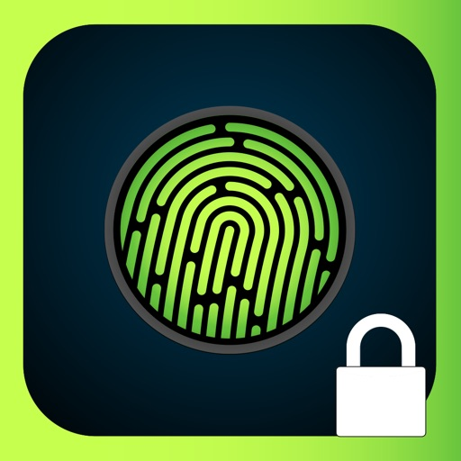 Lock Screen Fingerprint Illusion Wallpapers: iOS 8 Edition