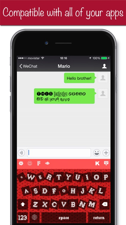 K+ Keyboard Plus Customize your keyboard with Emoji, fonts and sounds screenshot-4