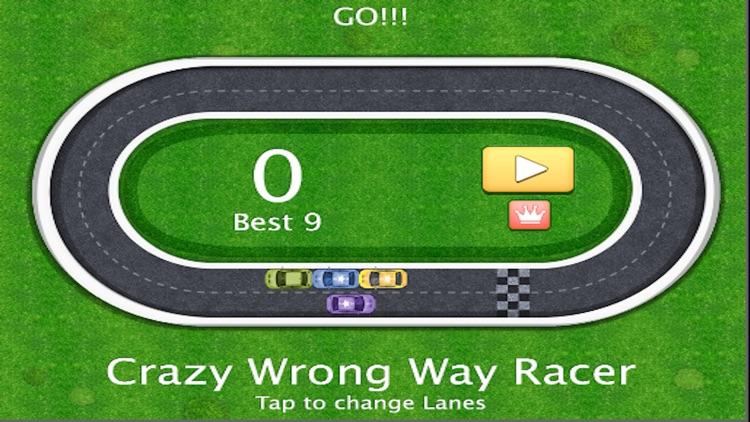Crazy Wrong Way Racer screenshot-3