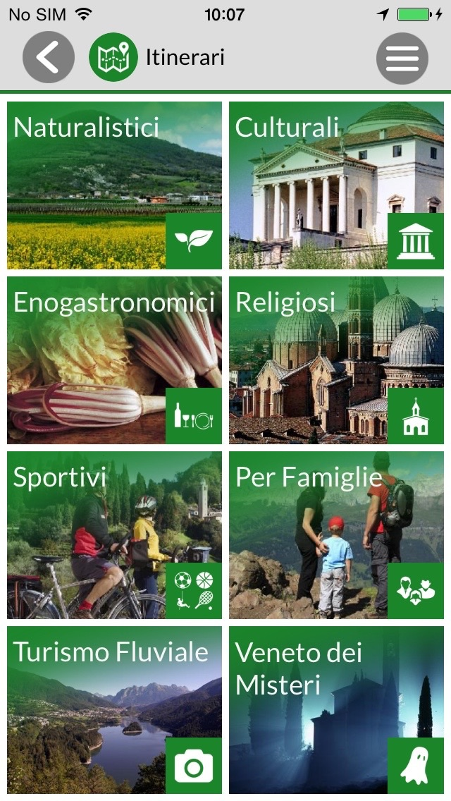 Screenshot of Visit Veneto4