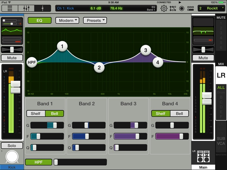 Mackie Master Fader 3 screenshot-1