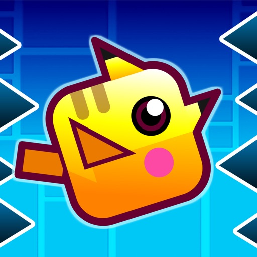 Geometry Pocket Mouse - Electric Pet Go Avoid Color Stack iOS App
