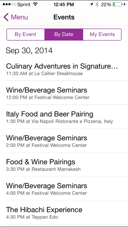 Epcot Food & Wine Festival Guide screenshot-4