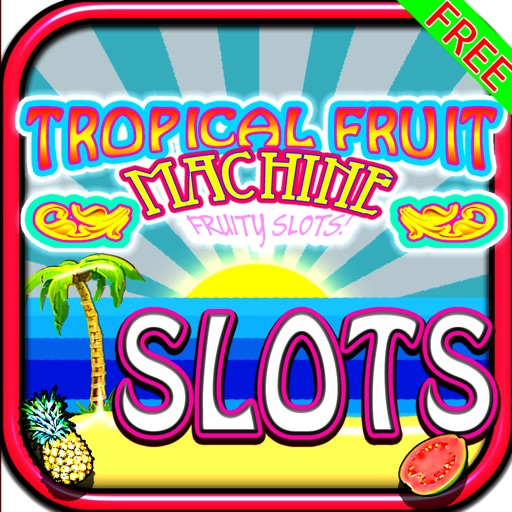 Tropical Fruit Machine Slots: Cocktail Party Style