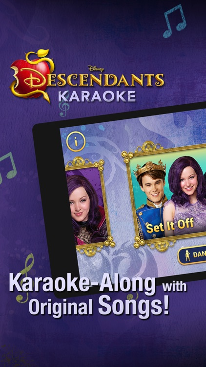 Disney Karaoke: Descendants screenshot-0